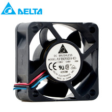 For delta AFB0505HD 5V 0.45A 5CM 5020 50X50X20MM 2 3 wire dual ball bearing cooling fan sunon2 5cm ec0510b2 q01u g99 2515 5v 0 2w cooling fan