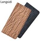 Genuine leather bark...