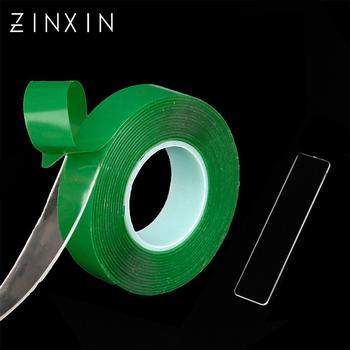 ZINXIN Smpl stojak do ekspozycji uchwyt prostokątna czysta folia ochronna Mini czerwony zielony 3M podwójne boki pokryte klejem rolka taśmy paznokci A tanie i dobre opinie tignish CN (pochodzenie) GJ0137-139 Zestaw demonstracyjny Normal specifications Red Green Clear False Nail Tips Display Stand