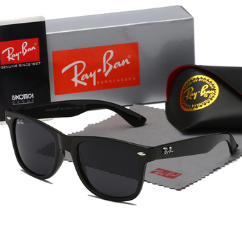 2020 New Rayban RB2140 Vintage Sports Style Polarized Sunglasses Men Black Driving Square Sunglass Shades For Women Luxury Brand