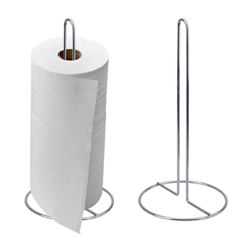 HOOMIN 31*15cm Toilet Roll Stand Toilet Paper Holder Bathroom Towel Hook Tissue Towel Rack Kitchen Roll Paper Accessories