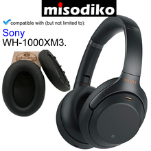 misodiko Replacement Ear Pads Cushion for Sony WH 1000XM3, Headphones Repair Parts Earpads with Clip Ring and Tuning Tone Cotton