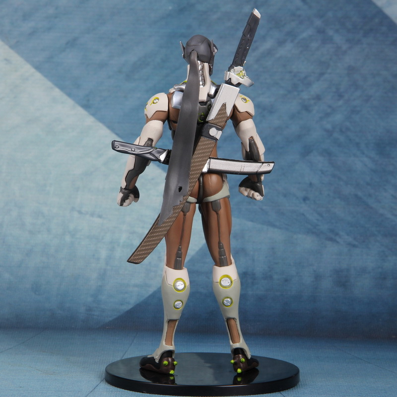 Overwatch Action Figure Shimada Genji Model Toys 2