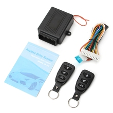 NoEnName_Null Universal Car Door Lock Vehicle Keyless Entry System Remote Central Kit w/Control Box