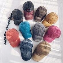 Hot Retro Baseball Cap Women Snapback Vacation Cotton Comfort  Casual Caps Men Washed Bone Tennis Hat Sports Hats