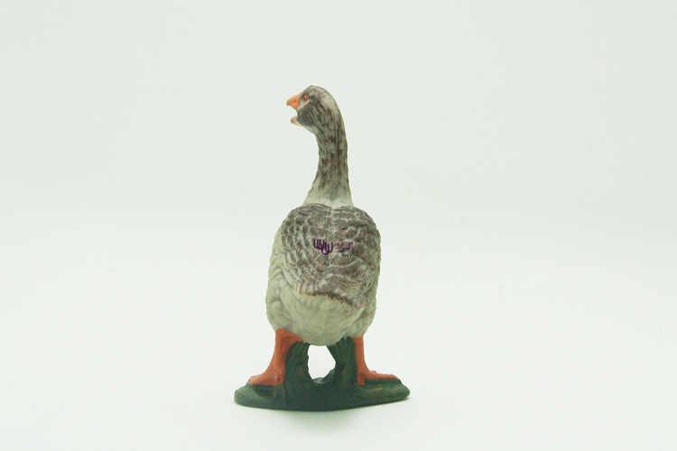 Modèle Animal sauvage modèle ensemble femelle gris oie plastique émuler jouet