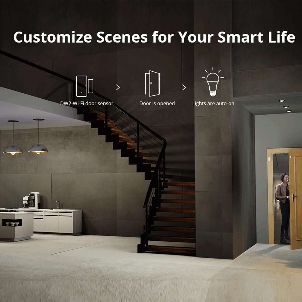 Sonoff B02-B-A60/ B05-B-A60 Wifi Smart Led Lamp E27 Dimbare Rgb Lamp Lampen 9W Voor Smart Home Automation Ewelink app Controle 6