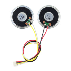 Image 2 - 8ohm 2 ワット円スピーカー 4Pin ケーブル lcd コントローラボード、フィットため PH2.0 スピーカーコネクタ
