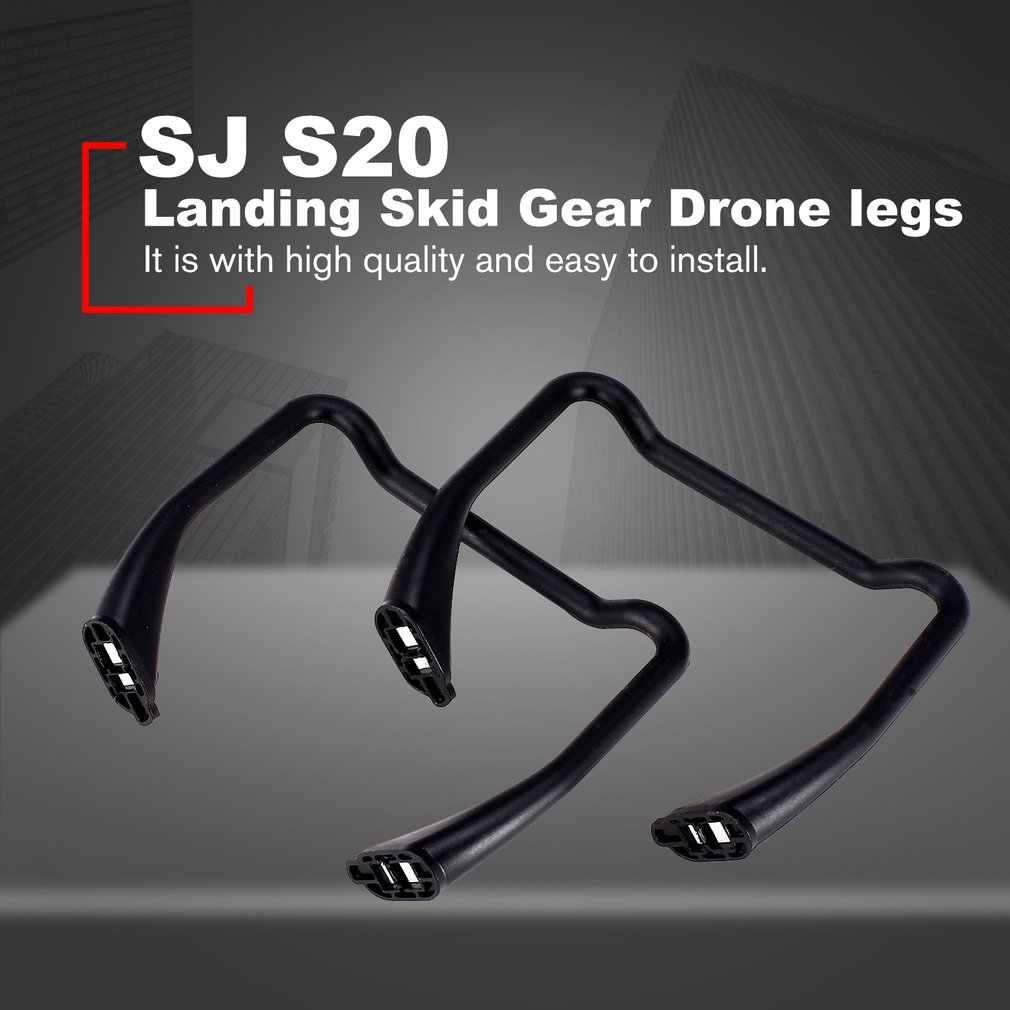 2 sztuk lądowania Skids biegów Drone nogi koła statyw dla SJ S20/S30 RC FPV Quadcopter samolot Drone UAV część zamienna