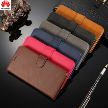 Original for huawei p20 lite 2019 case Leather Flip Wallet Cover p30 p20/30-pro/lite nova4e 3e 3 3i 4 5i enjoy 9s