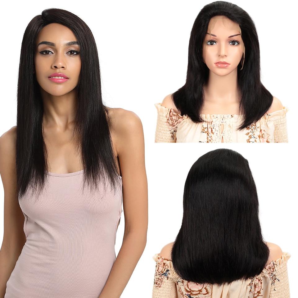 Joedir Hair Bob Lace Front Wigs Brazilian Straight Wig Human