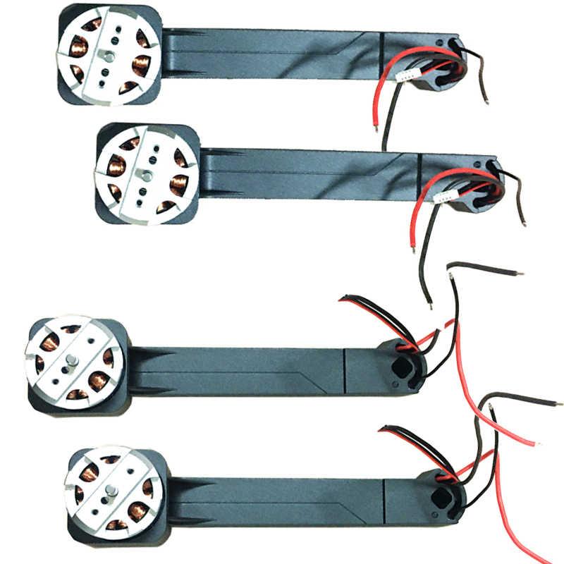 MJX B4W RC Drone moteur bras pour MJX Bugs 4W JJRC X11 GPS quadrirotor pièces de rechange accessoires moteur bras Dron