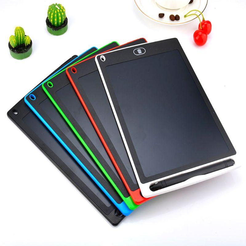 לוח גרפי אלקטרוניקה ציור Tablet חכם Lcd כתיבת לוח מחיק ציור לוח 8.5 12 אינץ אור כתב יד כרית Pe
