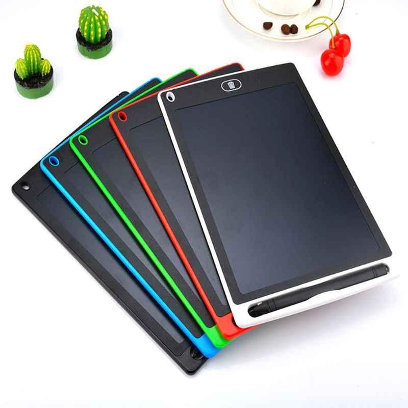 Grafik Tablet elektronik çizim tableti akıllı Lcd yazma tableti silinebilir çizim tahtasında 8.5 12 inç ışıklı çerçeve el yazısı Pe