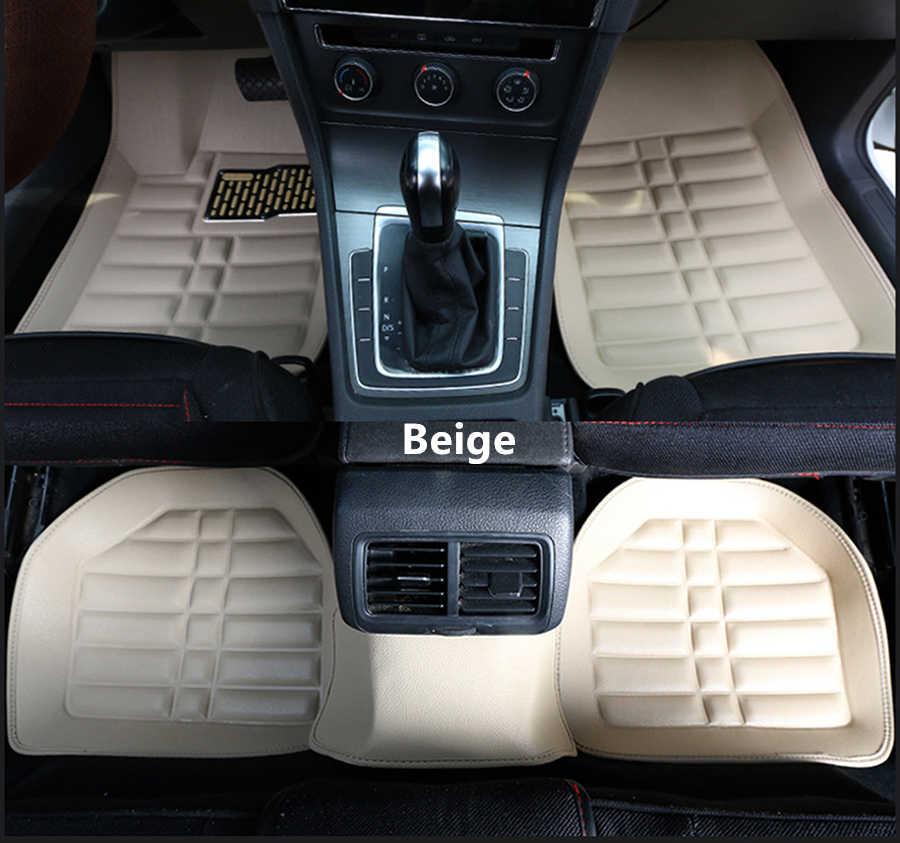 SJ personnalisé imperméable à l'eau tapis de sol de voiture pour Mercedes Benz tous les modèles E C ML GLA GLK GLK GL CLS S R A B CLK SLK G GLS GLC Vito