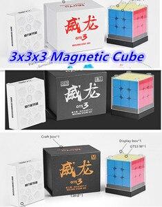 Image 1 - MoYu Weilong GTS3/GTS3 M küp 3x3x3 cubo 3x3x3 manyetik sihirli bulmaca küp 3x3x3 sihirli küp 3x3x3 hız küp