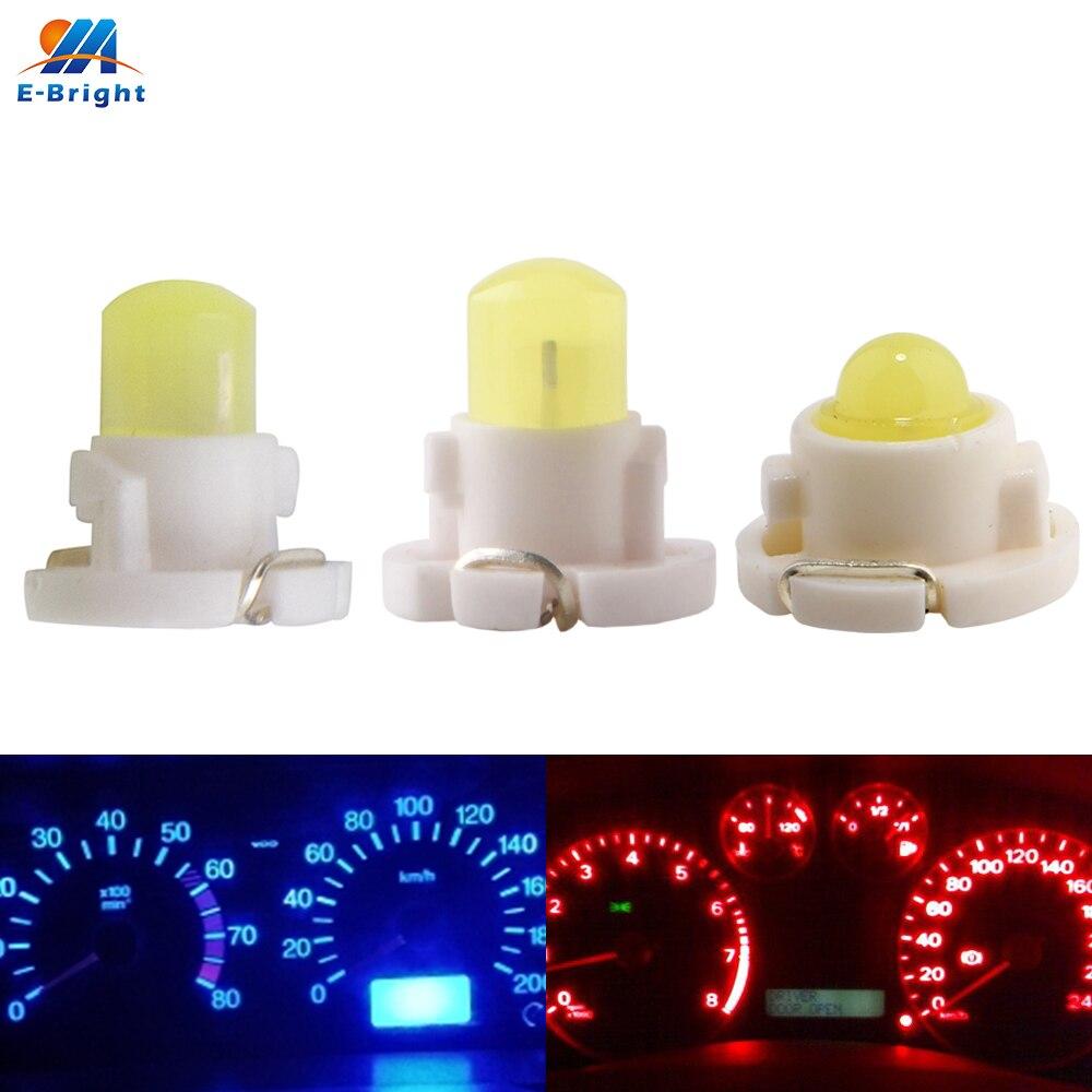 10 шт. T3 T4.2 T4.7 COB SMD F8 приборной панели светодиодный лампы карта Предупреждение индикатор Подсветка салона автомобиля автомобильный инструме...