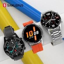 SANLEPUS reloj inteligente para hombre y mujer, pulsera deportiva resistente al agua IP68, con Bluetooth, llamada, para Android y Apple, 2021