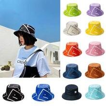 Брендовые солнцезащитные шапки для женщин со смайликом Рыбацкая