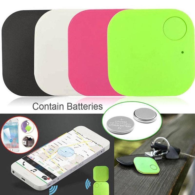 Mini GPS Tracking Device Tag Key Child Finder Pet Tracker Vehicle Locato Fashion BluetoothTracker GPS Anti-lost Smart Tracker