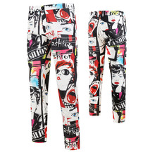 Trousers Suit Casual-Pants Straight New Fashion Singer Hip-Hop Stage Beauty Tide Mens