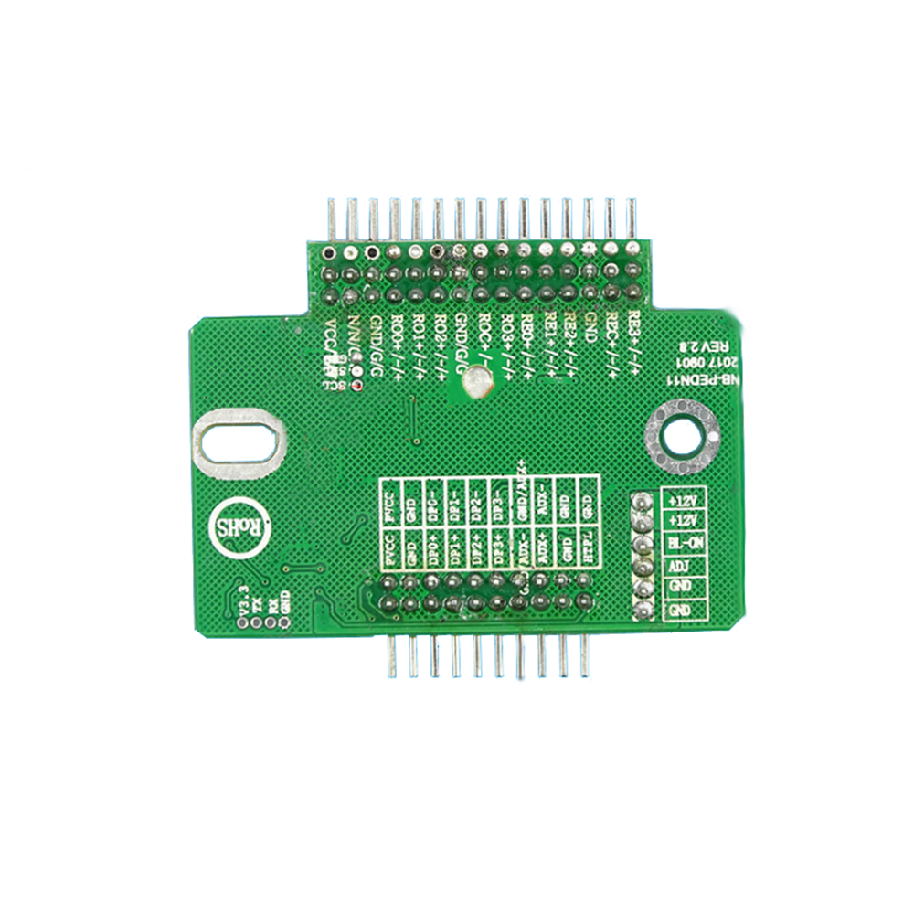 Taidacent DP5 LVDS To EDP Universal Driver Board LVDS To EDP Board LVDS Conversion Module Signal Adapter Board