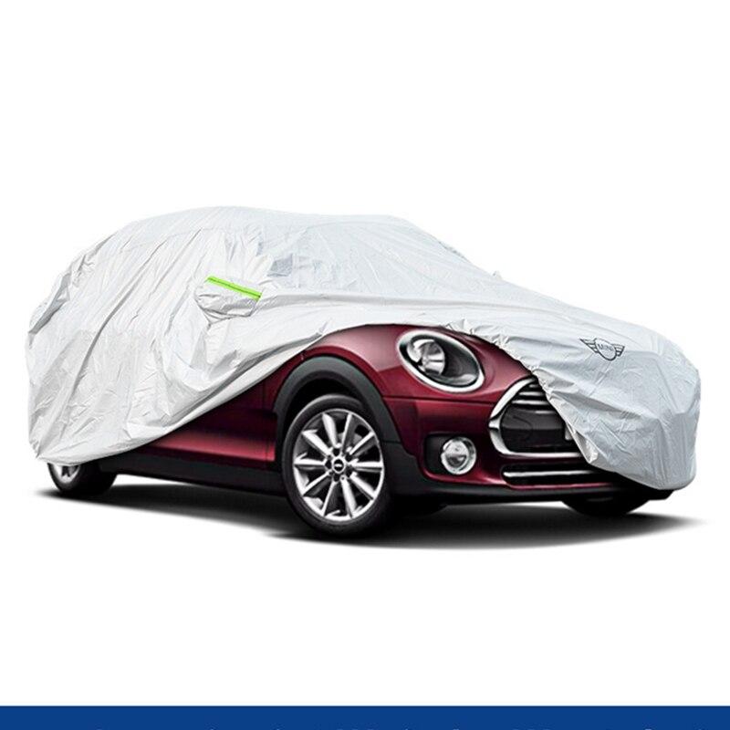 Автомобильный чехол для внутреннего наружного авто чехол Защита от солнца снег пылезащитный чехол для MINI Cooper F54 F55 F56 R60 R55 автомобильные аксе