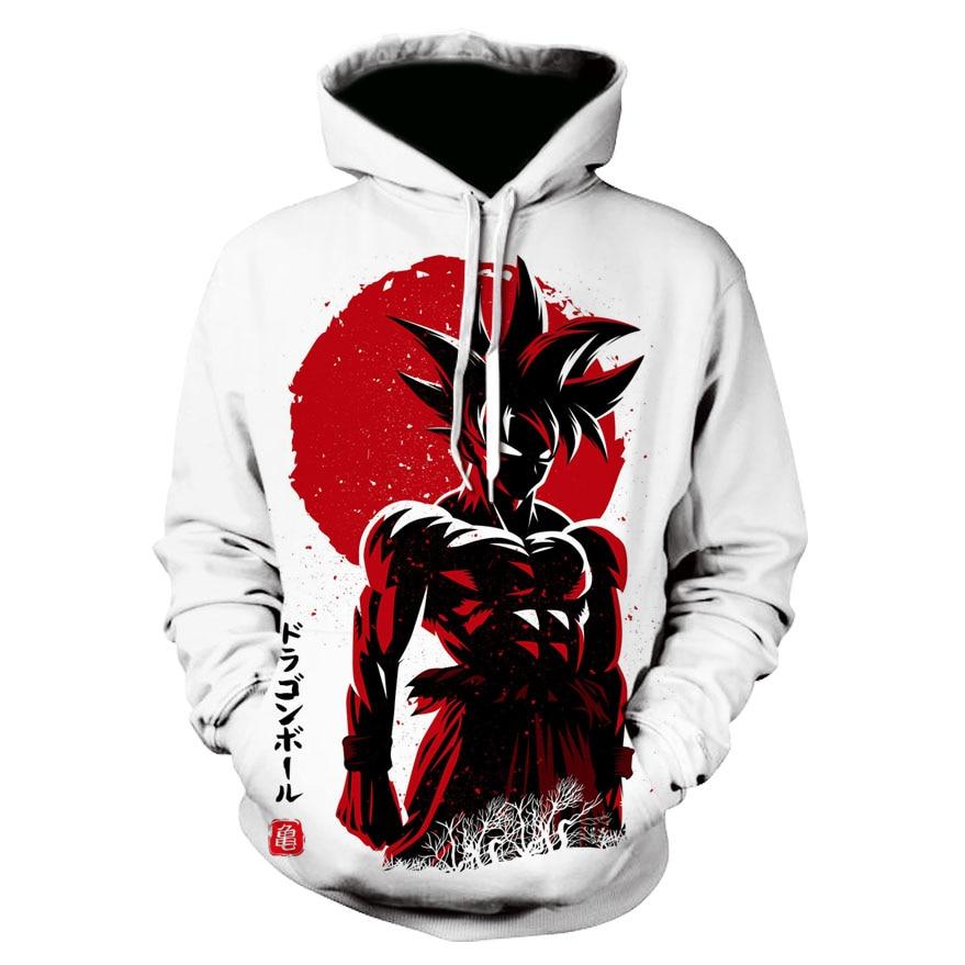New Design Dragon Ball Z Goku Hoodies DBZ Strong Goku Printing 3D Hooded Sweatshirt Men Women Harajuku Unisex Outerwear Hoody