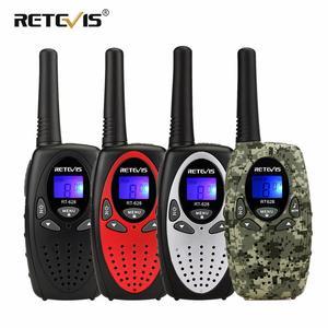 Image 1 - RETEVIS RT628 Mini Walkie Talkieเด็ก2Pcs PMR Handyวิทยุ4สีวันเกิดคริสต์มาสของขวัญของเล่นwalkie Talkie