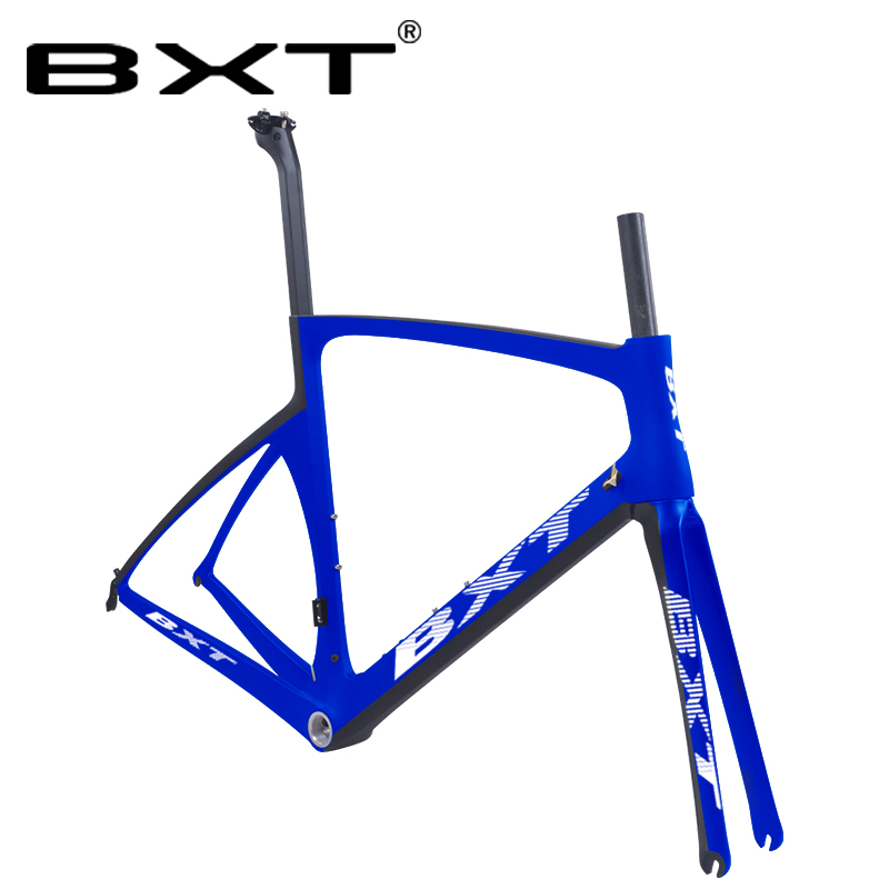Free Shipping New 700C Carbon Road Bicycle Frame Di2 Bicicletas Frames Carbon Racing Road Bike Frameset Max 700*23/25C Tires