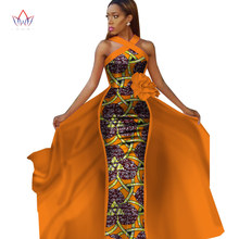 african dresses for women plus size Dashiki sleeveles in clothing party dress 4xl other WY2340