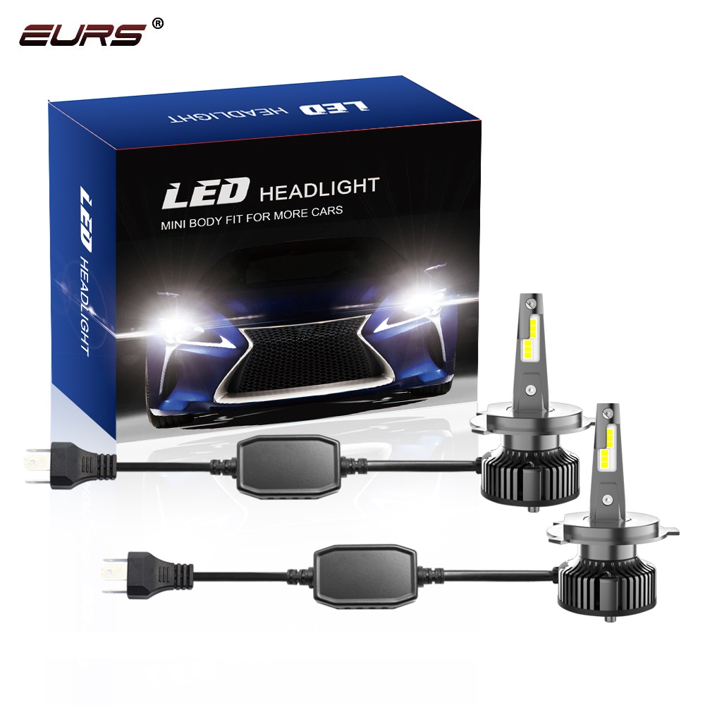 2pcs Car H4 H7 led H1 9005 hb3 9006 LED Headlight Bulb H11 Led D1 D4 D5 Auto Led Lamp 80w 16000LM Headlamp Fog Light 6000K V13 image