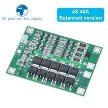 3s 4S 40a 60a li-ion bateria de lítio carregador placa de proteção 18650 bms para o motor de broca 11.1v 12.6v/14.8v 16.8v melhorar o equilíbrio