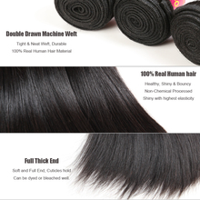 Brazilian Virgin Hair Straight Bundles