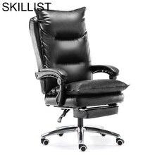 Escritorio Cadir boss T Shirt Oficina Stool Armchair Sillon Taburete Leather Poltrona Cadeira Silla Gaming Office Chair