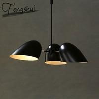 Industrial Iron Pendant Lights LED Iron Hanging Lamp Nordic Pendant Lamp Living Room Bedroom Dining Room Loft Pending Lighting
