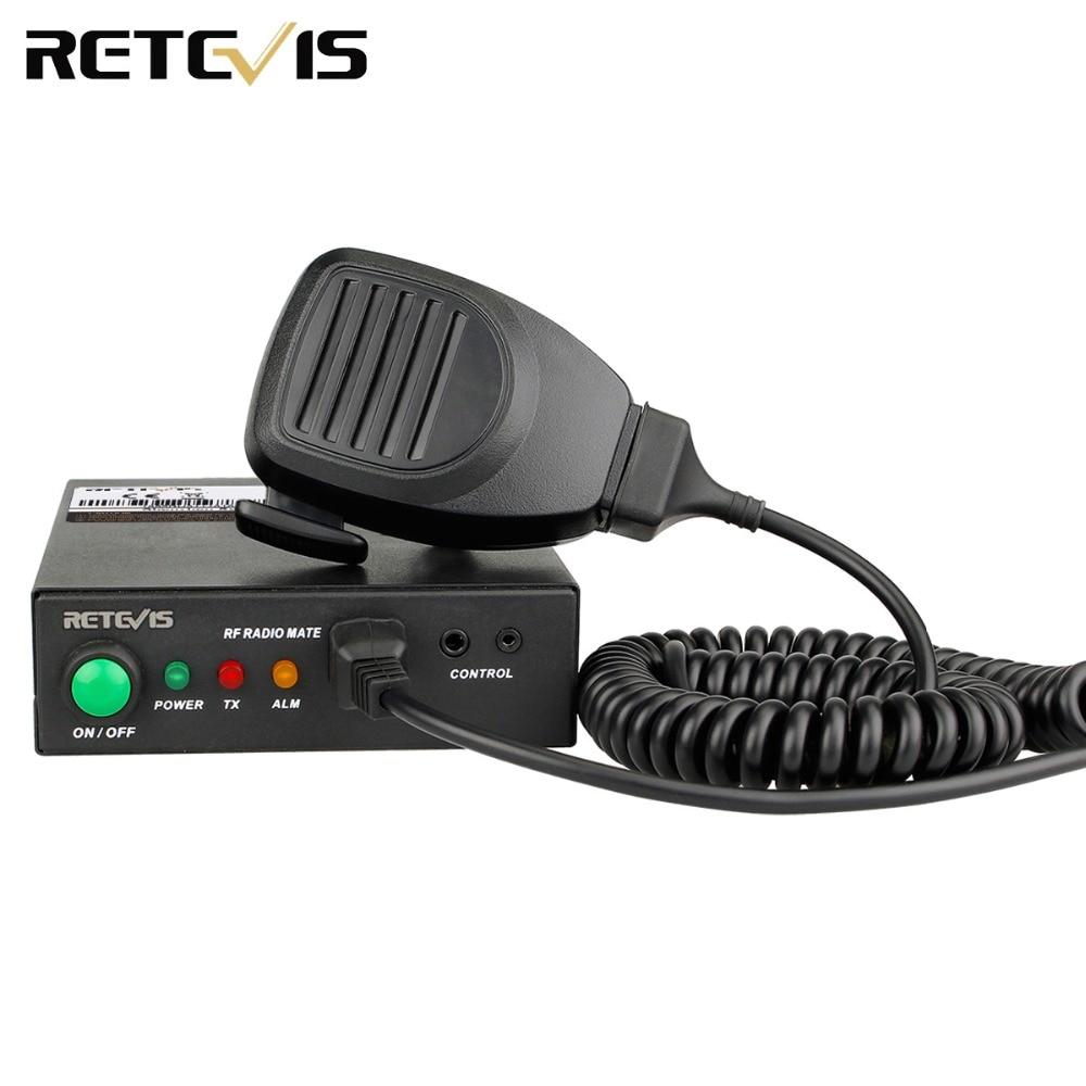 Retevis RT91 Ham Radio Amplifier VHF Or UHF Ham Radio Power Amplifier For DMR RT3S/HD1 Digital/Analog Walkie Talkie Amplifier