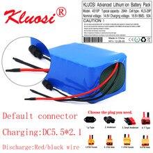 KLUOSI 4S10P 14.8V 29Ah 14.4V 600Watt 16.8V Lithium Battery Pack with 50A BMS for Inverter Smart Robot High-power Equipment Etc