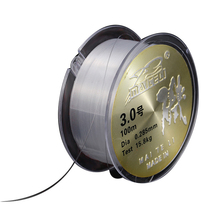 100 M Strong Fishing Line Wear-resistant  Nylon Diameter:0.1mm-0.5mm,Size:8-100lb Competitive Fish Accessories