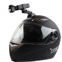 Motorcycle helmet hat mount selfie stick arm holder & 3M glue base for dji osmo pocket / osmo pocket 2 gimbal camera Accessories