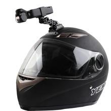 دراجة نارية خوذة قبعة جبل selfie عصا الذراع حامل و 3M الغراء قاعدة ل dji osmo جيب/osmo جيب 2 كاميرا ذات محورين اكسسوارات