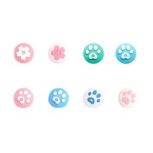Image 2 - غطاء عصا التحكم لجهاز Nintendo Switch Lite ، مخلب القط اللطيف ، الكرز ، زهرة الإبهام ، غطاء وحدة التحكم