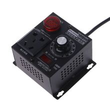 4000W AC 220V SCR Electronics Voltage Regulator Thyristor Electronic Controller  ac 220v 4000w high power scr speed controller electronic voltage regulator governor l15
