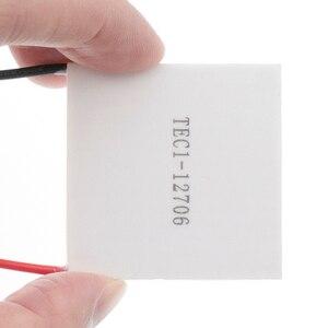Image 5 - 10pcs חדש הזול ביותר מחיר TEC1 12706 12v 6A TEC Thermoelectric Cooler Peltier (TEC1 12706)