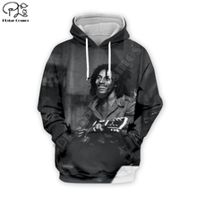 PLstar Cosmos Reggae Bob Marley Tracksuit Colorful 3DPrint Hoodie/Sweatshirt/Jacket/shirts Men Women hiphop casual new fashion Swag cool s-6