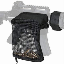 Bullet-Pouch-Holder 15-Ammo-Mesh Trap Shell-Catcher Nylon-Bag AR Rifle Quick-Release