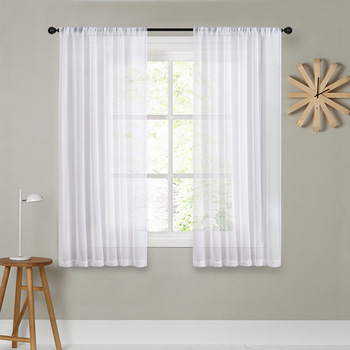 Rideaux de décoration pour fenêtre ou porte fenêtre