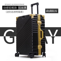 20242628 inch aluminium frame suitcase box strong business trolley luggage bag on wheels Spinner brand Travel Suitcase