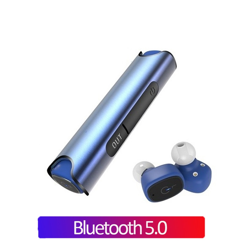 2019 NEW Waterproof <font><b>TWS</b></font> Bluetooth Earphones True <font><b>Wireless</b></font> Stereo Headset Sports <font><b>Earbuds</b></font> Black Red Blue <font><b>S2</b></font> image