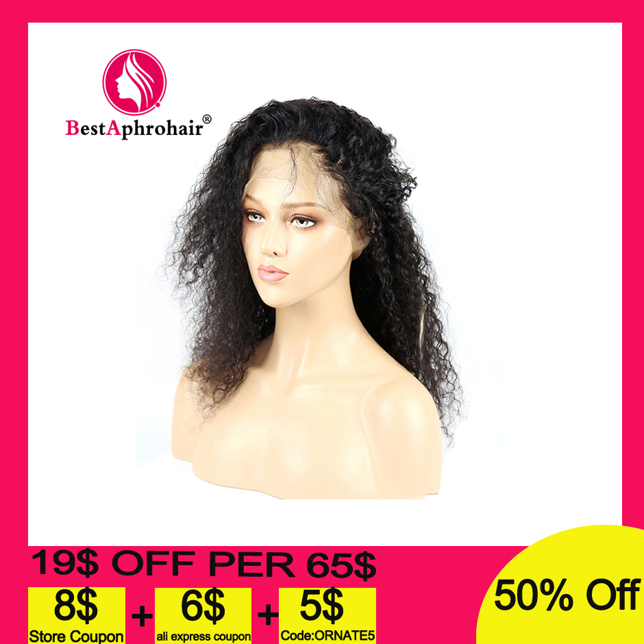 360 Water Wave Lace Frontal Human Hair Wigs Pre Plucked With Baby Hair Brazilian Remy Human Hair Wigs 10-24inch Natural Color